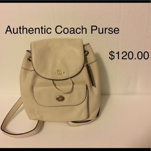 Authentic Coach Backpack. Pristine Condition